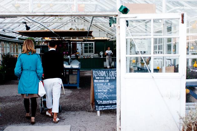 Rosendals kafe Stokholm